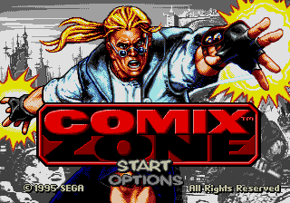 Comix Zone (Beta Version)