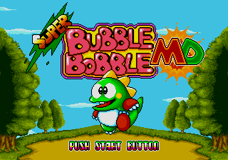 Super Bubble Bobble MD