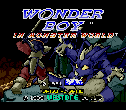 Wonder Boy in Monster World (AKA Wonder Boy V: Monster World III)