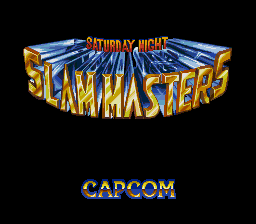 Saturday Night Slam Masters (AKA Muscle Bomber)