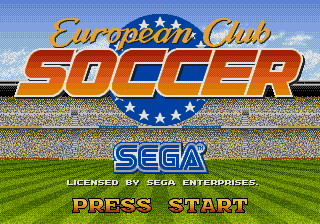 European League Soccer (AKA World Trophy Soccer)