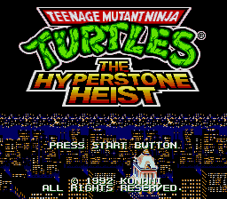 Teenage Mutant Ninja Turtles: The Hyperstone Heist (AKA Return of the Shredder)