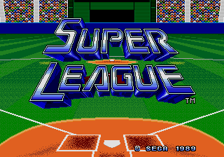 Super League (AKA Tommy Lasorda Baseball)