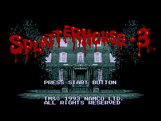 Splatterhouse 3