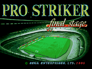 Pro Striker Final Stage