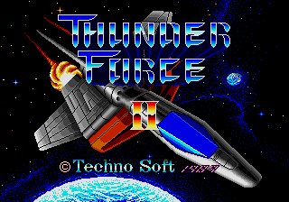 Thunder Force II (AKA Thunder Force II MD)