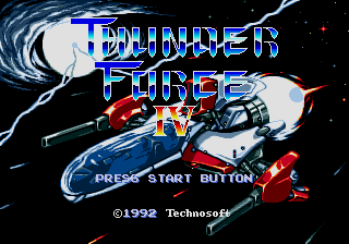Thunder Force IV (AKA Lightening Force: Quest for the Darkstar)