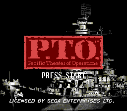 P.T.O. - Pacific Theater of Operations